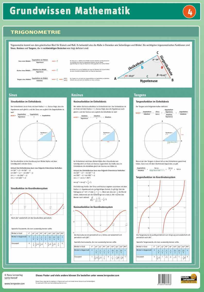 Mathematik Trigonometrie